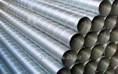 Air ducts from galvanized steel