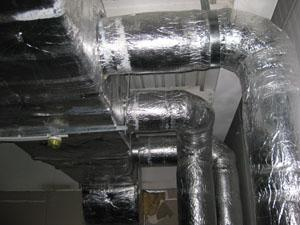 Монтаж систем вентиляции и кондиционирования...