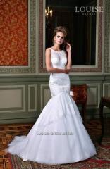 Vestido de novia inspirado por el amor de Virginia