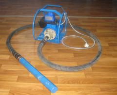 Вибраторы электромеханические глубинные ручные с