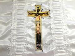 Ритуальный комплект П14к, цветная печать белый