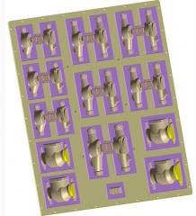 Прес-форми вакуумируемие для автоматизованих