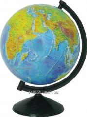 The globe of physical 26 cm - varnished with
