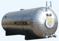 Tanks for storage of liquid carbon dioxide