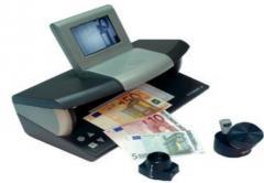 Машинки для проверки подлинности банкнот,