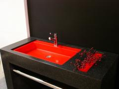 Table-tops for bathrooms