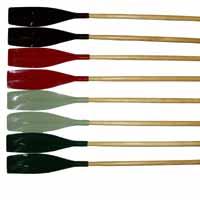 Стеклопластиковые весла изготовлены из