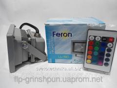 Прожектор светодиодный Feron LL180 10W RGB с