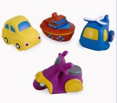 Игрушки для купания авто 4 шт.