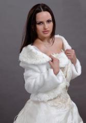 Fur coats are wedding