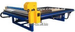 Machines for figured cutting of glass with ChPU