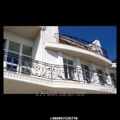 Кованый балкон Модель 20018