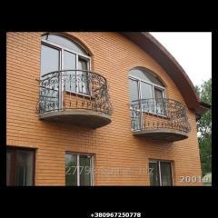 Кованый балкон Модель 20019