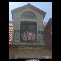 Кованый балкон Модель 20020
