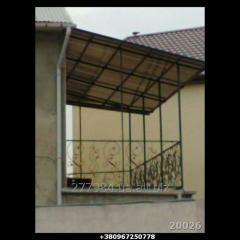 Кованый балкон Модель 20026
