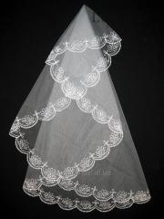 The veil embroidered 1,35kh1,35m 0001