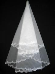 The veil embroidered 1,35kh1,35m 0007