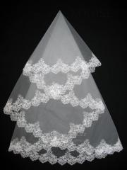 The veil embroidered 1,35kh1,35m 0008