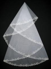 The veil embroidered 1,35kh1,35m 0009