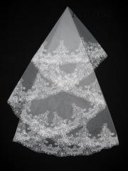 The veil embroidered 1,35kh1,35m 0011