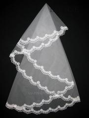 The veil embroidered 1,35kh1,35m 0016