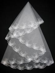 The veil embroidered 1,35kh1,35m 0017