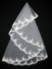 The veil embroidered 1,35kh1,35m 0018