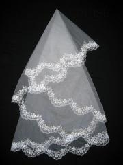 The veil embroidered 1,35kh1,35m 0021