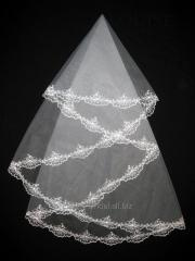 The veil embroidered 1,35kh1,35m 0022