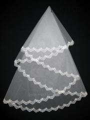 The veil embroidered 1,35kh1,35m 0023