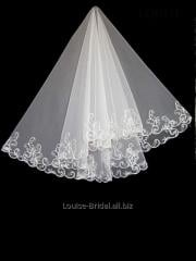 The veil embroidered with payetka 002