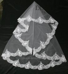 The veil embroidered 28-C