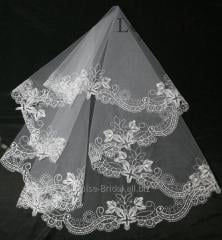 The veil embroidered 24-C