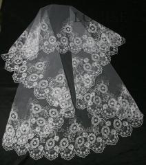 The veil embroidered 23-C