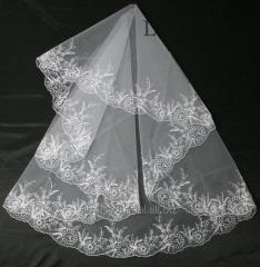 The veil embroidered 21-C