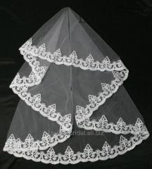 The veil embroidered 19-C