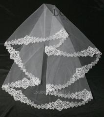 The veil embroidered 16-C