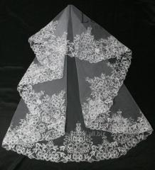 The veil embroidered 14-C