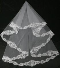 The veil embroidered 11-C