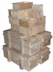 Boxes tare wooden