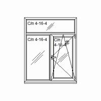 Окно «Т-образного» рассечения.