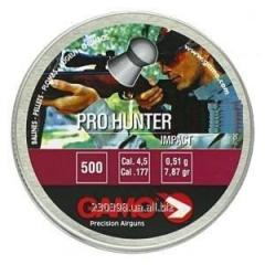 Пульки для пневматического оружия Pro-Hunter 500