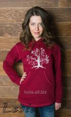 Жіночий светр-худі Дерево життя код 9730530