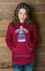 Жіночий светр-худі Лялька-мотанка код 9730540