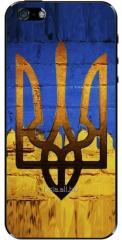 Захисна наклейка для iPhone - Тризуб золотий код UA0004
