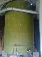 Емкость вертикальная эмалированная, объёмом 25 м³