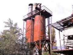 Силос, объёмом 45 м³