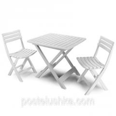 Camping Set set 2 chairs + table,