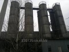 Силос, объёмом 100 м³