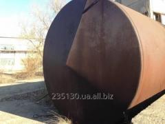 Емкость металлическая, объёмом 75 м³